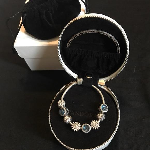Pandora Travel Jewelry Box
